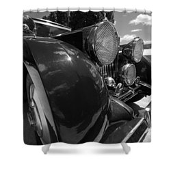 Shower Curtain featuring the photograph Rolls Royce Station Wagon by John Schneider