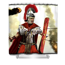 Roman Centurion Shower Curtain