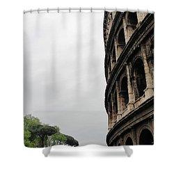 Shower Curtain featuring the photograph Roman Coliseum by Tiffany Erdman