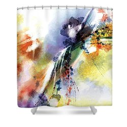 Romance Shower Curtain by Francoise Dugourd-Caput