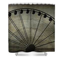Romance In The Air Shower Curtain