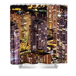 Shower Curtain featuring the photograph Romance In Yaletown Mcdxxxi by Amyn Nasser