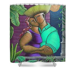 Romance Jibaro Shower Curtain