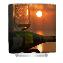 Shower Curtain featuring the photograph Romance by Leticia Latocki