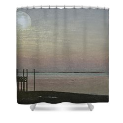 Romancing The Moon Shower Curtain