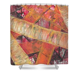 'romans Chapter Eight Vs Twenty Eight' Shower Curtain