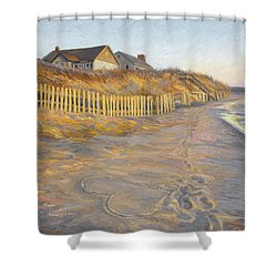 Romantic Getaway Shower Curtain