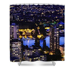 Shower Curtain featuring the photograph Romantic Kits Beach - Mdxxxviii by Amyn Nasser