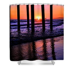 Romantic Stroll Shower Curtain by Tammy Espino