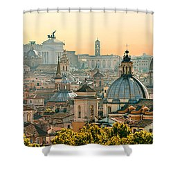 Rome - Italy Shower Curtain by Luciano Mortula