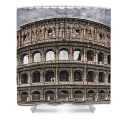 Rome Colosseum 02 Shower Curtain