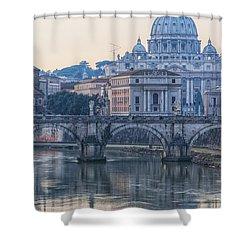 Rome Saint Peters Basilica 02 Shower Curtain