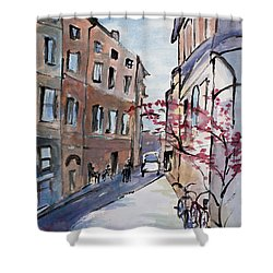 Rome Street Scene IIi Shower Curtain