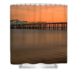 Romeo's Pier Shower Curtain