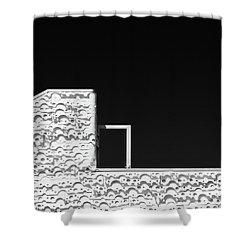 Roof Door Shower Curtain