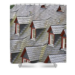 Roof Tops Shower Curtain