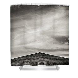 Rooftop Sky Shower Curtain by Darryl Dalton