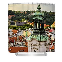 Rooftops Of Prague 1 Shower Curtain