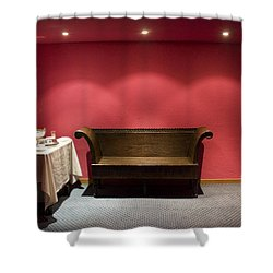 Shower Curtain featuring the photograph Room Service by Lynn Palmer
