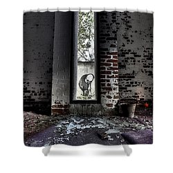 Room With A View Shower Curtain by Roddy Atkinson
