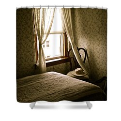 Shower Curtain featuring the photograph Room301 Irish Inn by Joan Reese