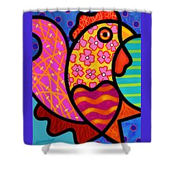 Rooster Dance Shower Curtain