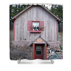Root Cellar Shower Curtain