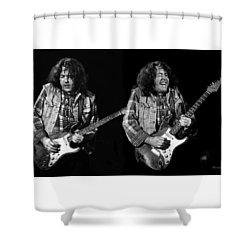 Rory Gallagher Shower Curtain