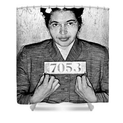 Rosa Parks Shower Curtain by Unknown