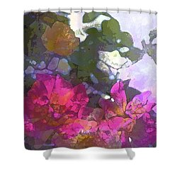 Rose 206 Shower Curtain