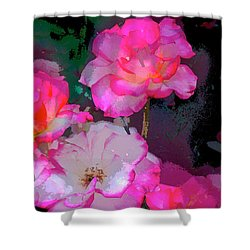 Rose 223 Shower Curtain
