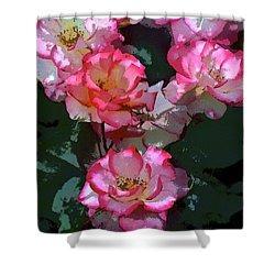 Rose 226 Shower Curtain