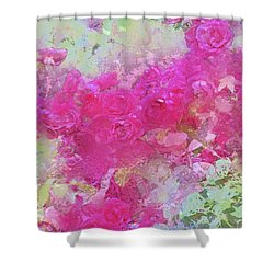 Rose 247 Shower Curtain