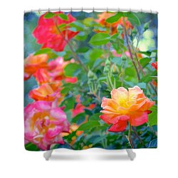 Rose 294 Shower Curtain