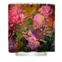 Rose 307 Shower Curtain