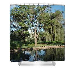 Shower Curtain featuring the photograph Rose Garden  by Jeannie Rhode