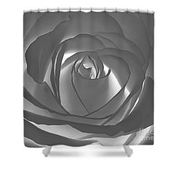 Shower Curtain featuring the photograph Rose by Geraldine DeBoer