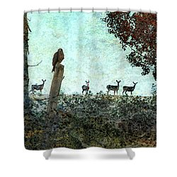 Rose Hill - Autumn Shower Curtain