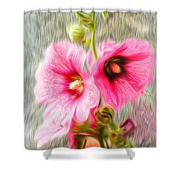 Rose Of The North Abstract. Shower Curtain