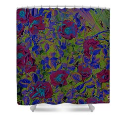 Shower Curtain featuring the photograph Roses By Jrr by First Star Art