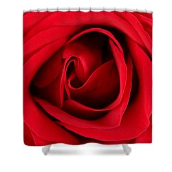 Roses For Life  Shower Curtain by Mark Ashkenazi