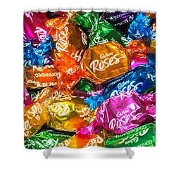 Roses Sweets Shower Curtain