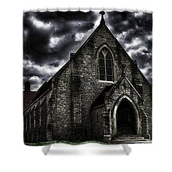 Roseville Ohio Church Shower Curtain
