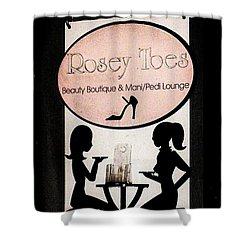 Shower Curtain featuring the photograph Rosey Toes by John King