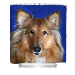 Shower Curtain featuring the photograph Rosie by Evelyn Tambour