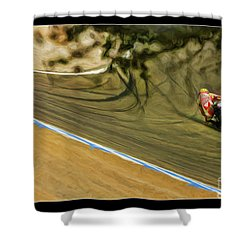 Rossi Though The Trees  Shower Curtain