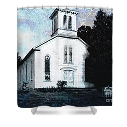 Rossville Church And Cemetery Shower Curtain