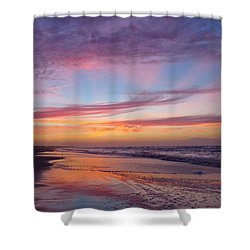 Rosy-fingered Dawn Shower Curtain