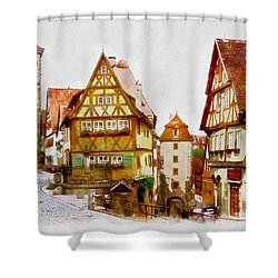 Rothenburg Shower Curtain
