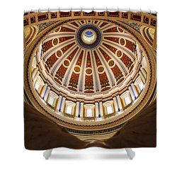 Rotunda Dome On Wings Shower Curtain